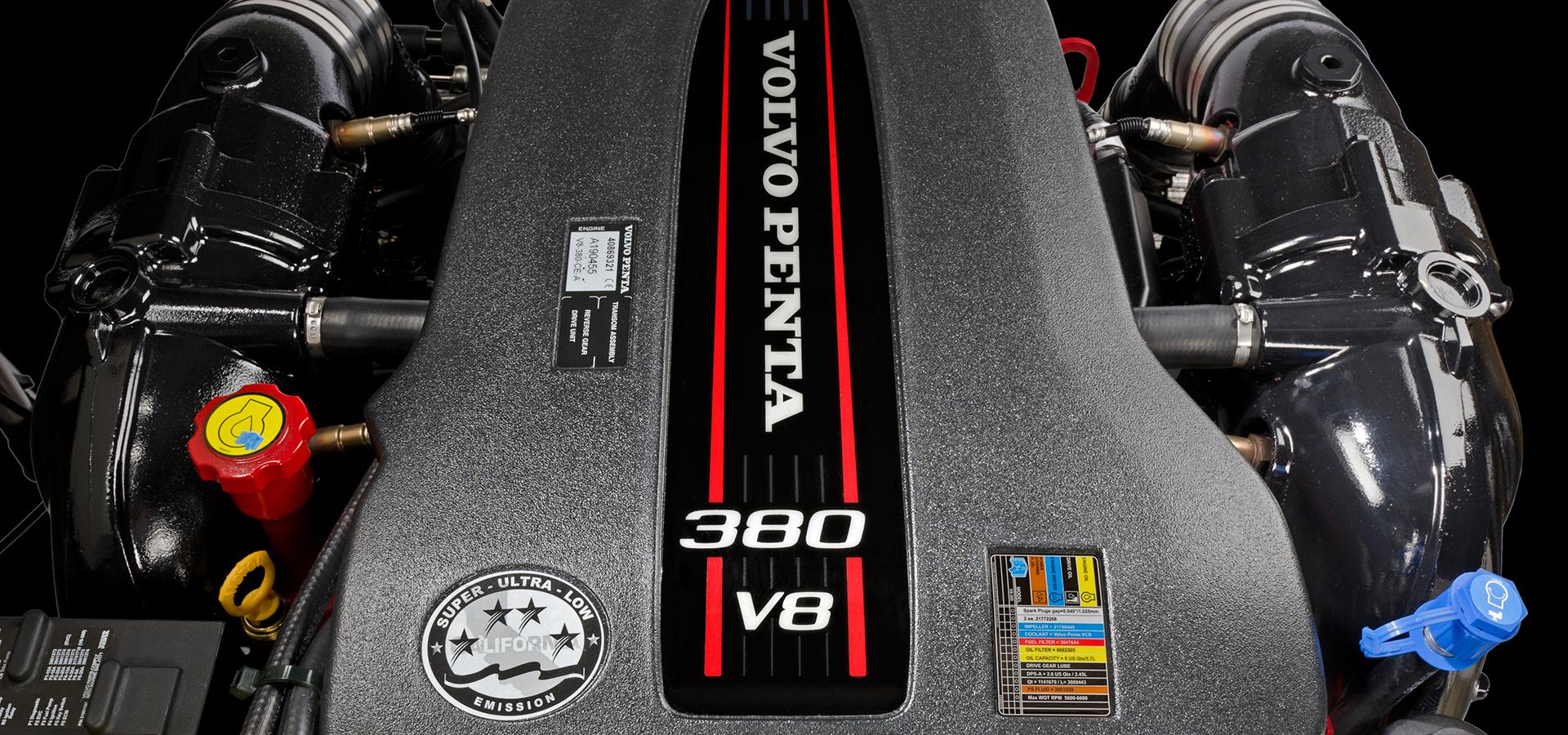 Volvo Penta V8 marine engine