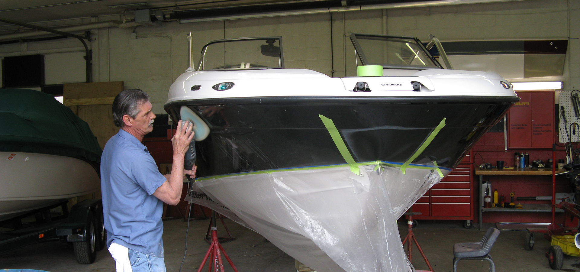 boat gelcoat repair