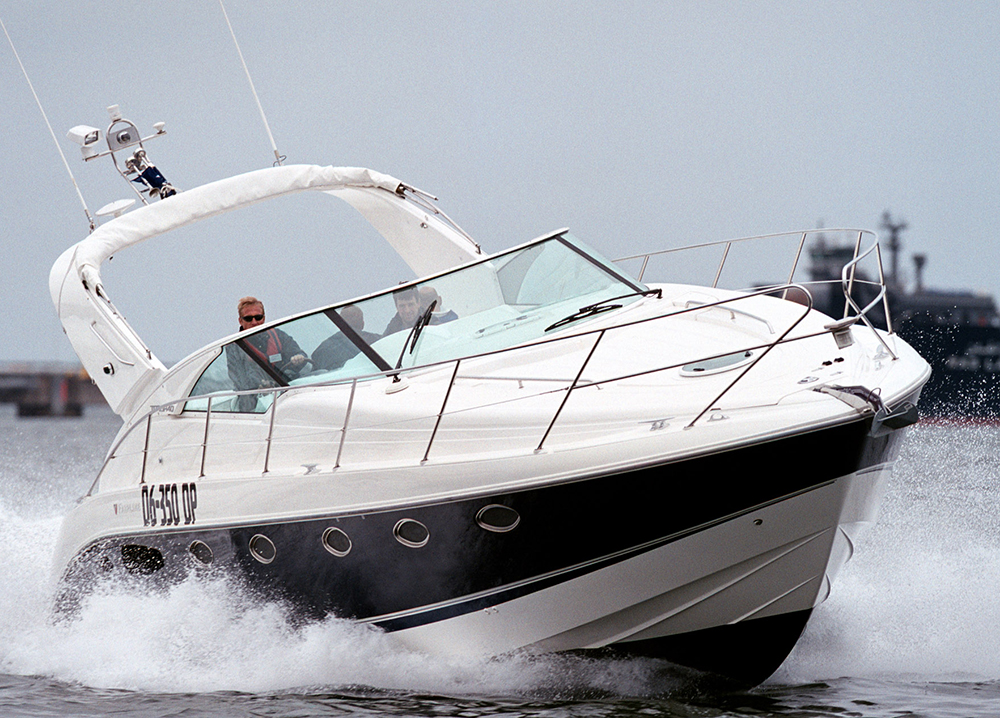 Fairline pleasure boat