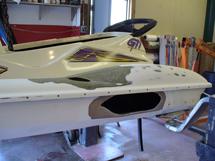 jet ski hole repair