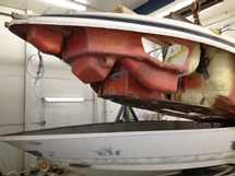 hull damage from bow collision