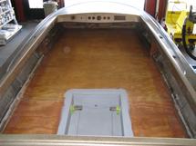 New jet boat floor