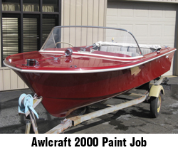 new Awlcraft 2000 paint