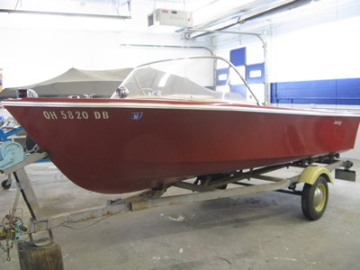 1963 Slick Craft Awlcraft 2000 before restoration