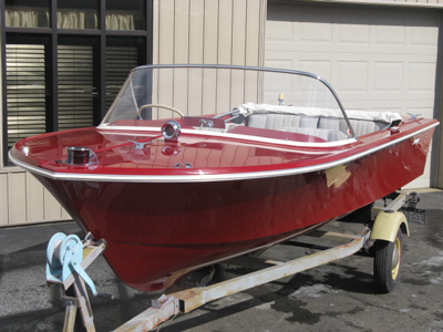 1963 Slick Craft finished restoration