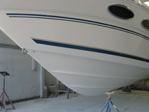 26′ Sea Ray after VC Epoxy application
