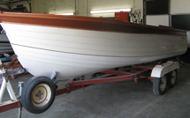 Wooden boat restoration