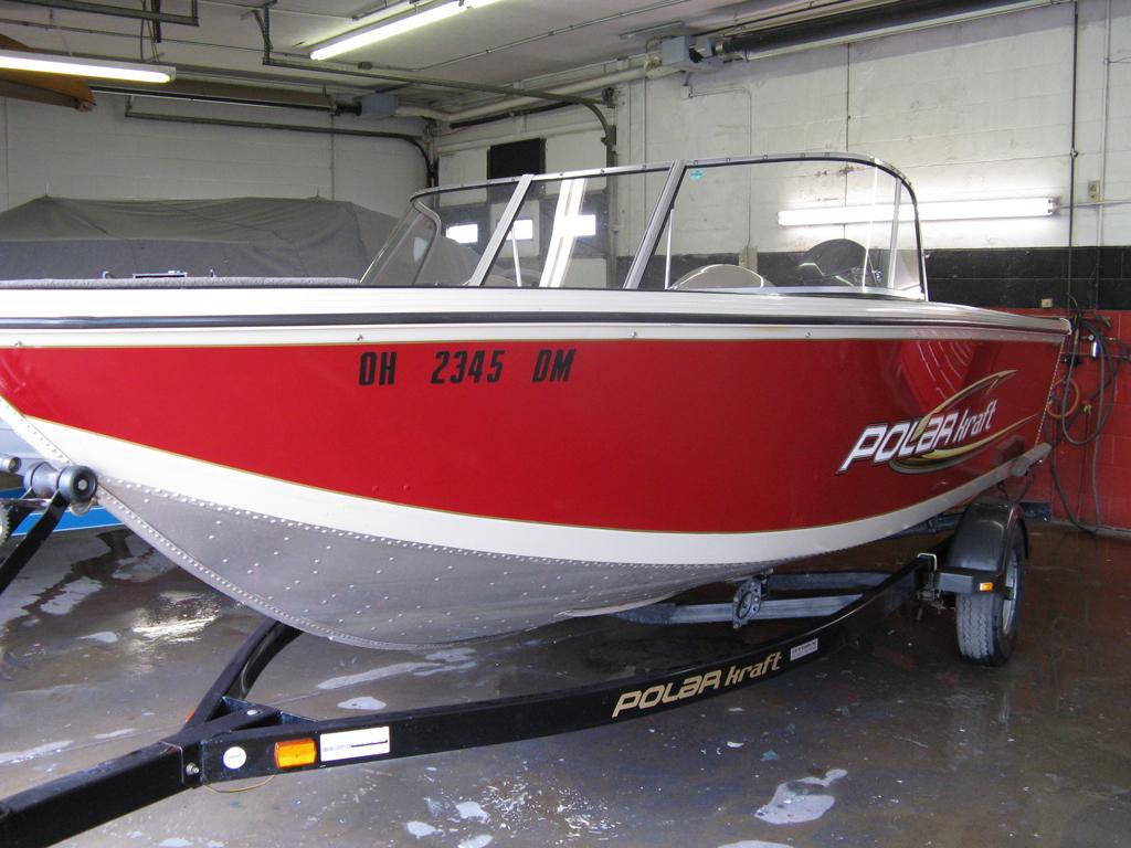Aluminum Boat Painting Starboard Marine Repair