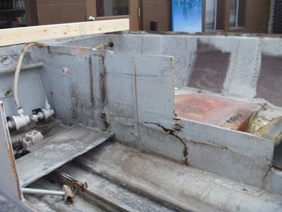 Damaged structural components