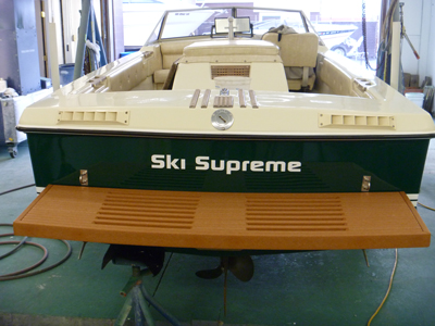 Ski Supreme with new swim deck